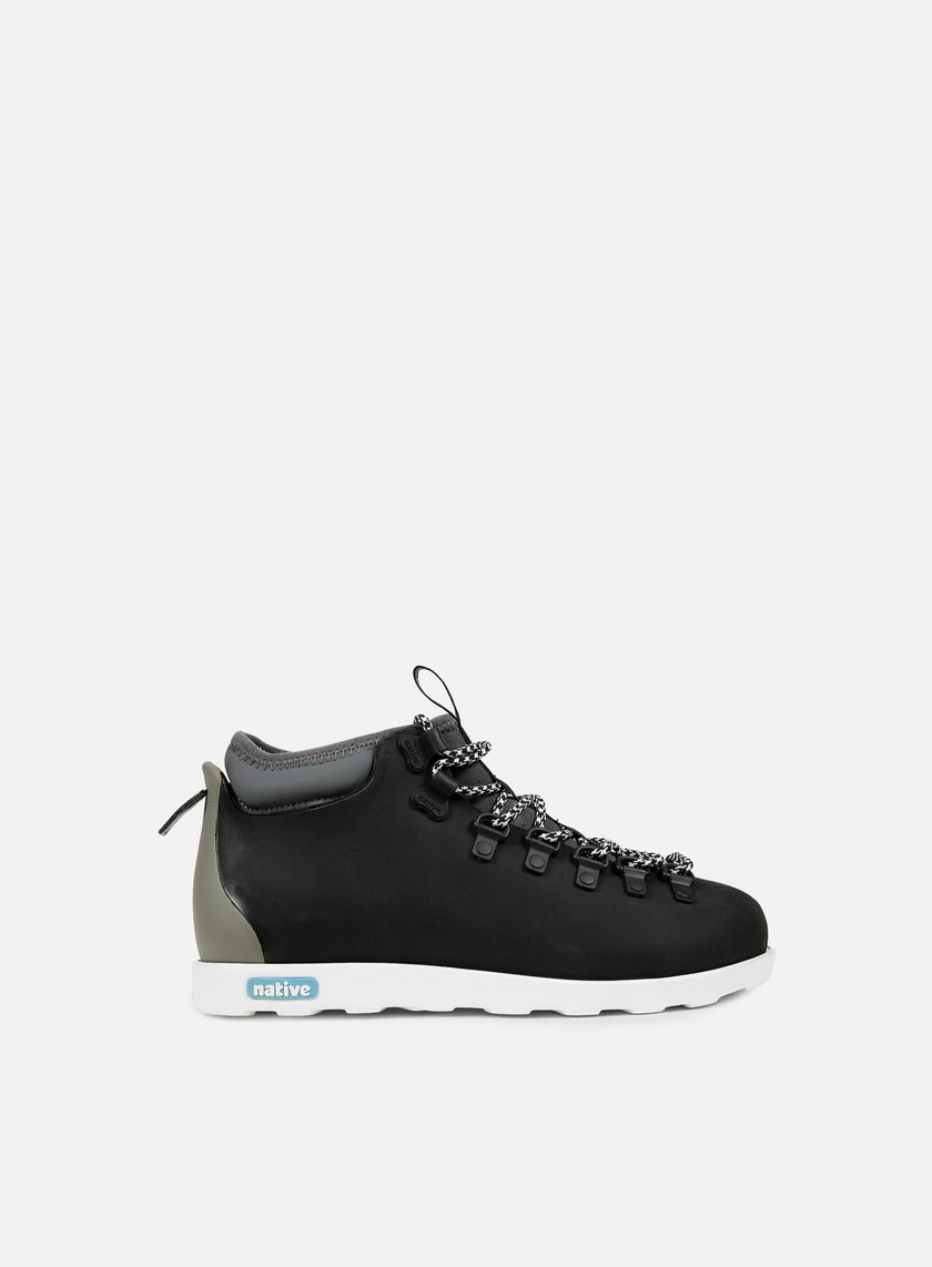 Native - Fitzsimmons Block, Jiffy Black/Shell White/Pigeon Block