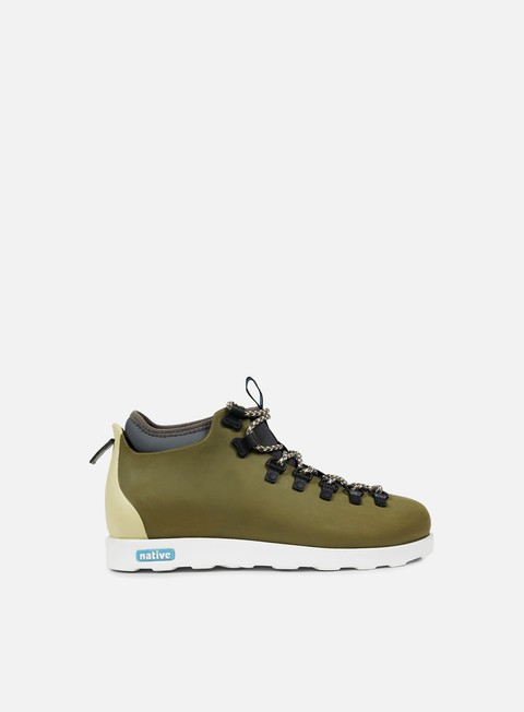 sneakers native fitzsimmons block utili green shell white bone block