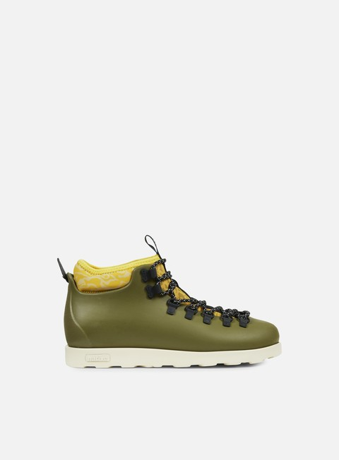 sneakers native fitzsimmons print rookie green honey yellow bone white anthill camo