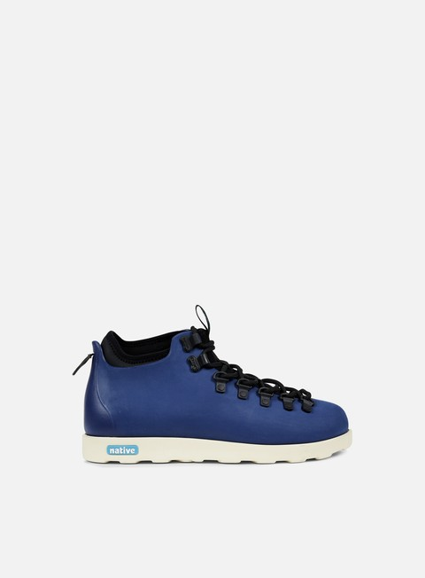 sneakers native fitzsimmons regatta blue bone white