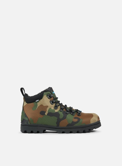 sneakers native fitzsimmons treklite print woodland camo jiffy black jiffy black