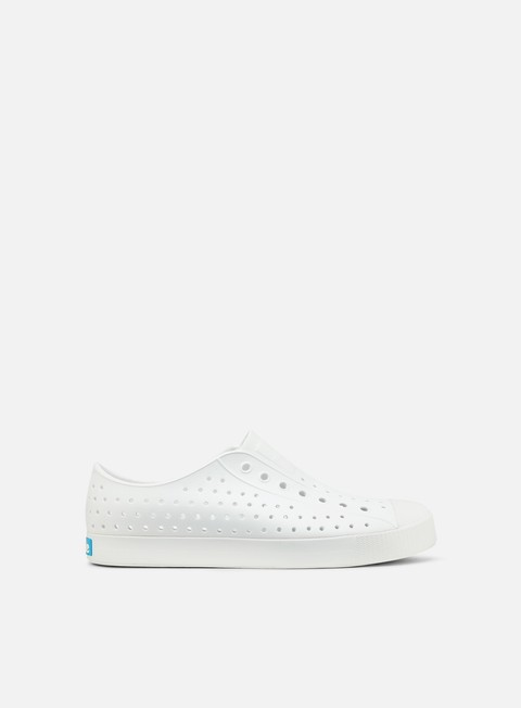 sneakers native jefferson shell white shell white