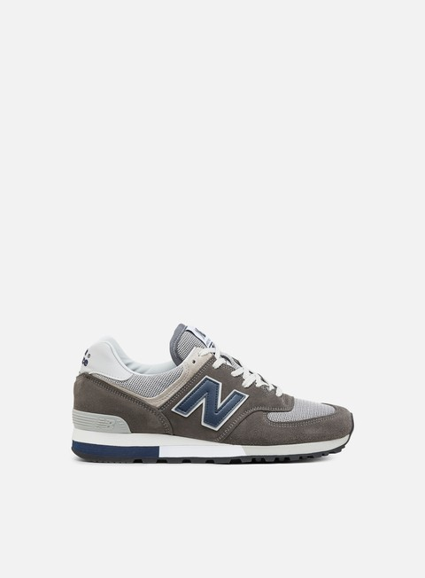 Outlet e Saldi Sneakers Basse New Balance 576 Made in England,Grey/Navy