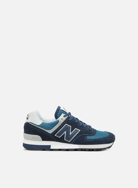 sneakers new balance 576 made in england suede mesh navy grey