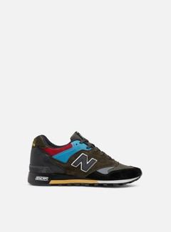 New Balance - 577 Made In England, Black/Green