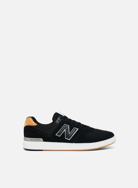 sneakers new balance am574 textile leather all coasts balck