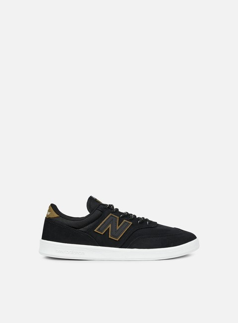 sneakers new balance am617 synthetic leather black