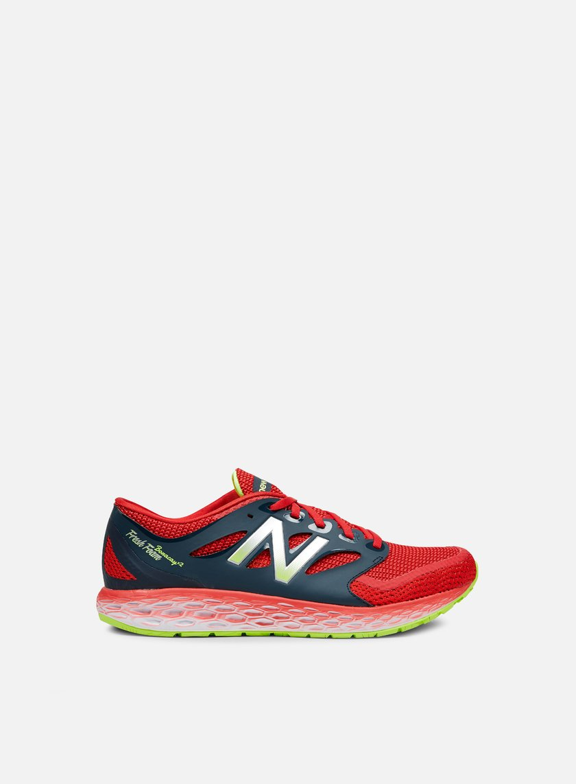 New Balance - Boracay, Black/Red