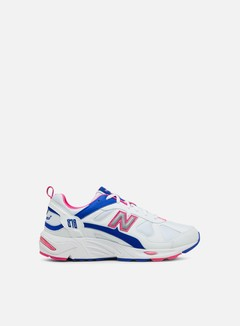 New Balance - CM878 Synthetic Leather/Mesh, White/Pink