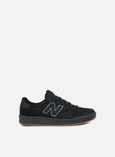 sneakers new balance crt300 suede textile black