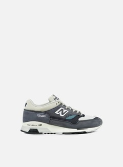 New Balance - M1500 35th Anniversary Suede/Mesh, Grey/Navy 1