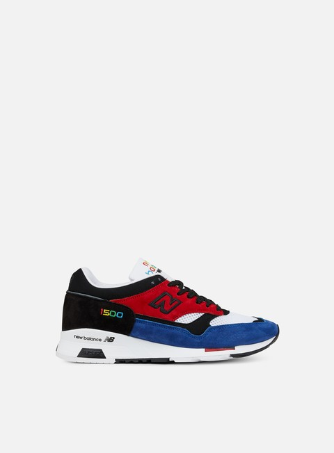 sneakers new balance m1500 prisma made in england red black blue