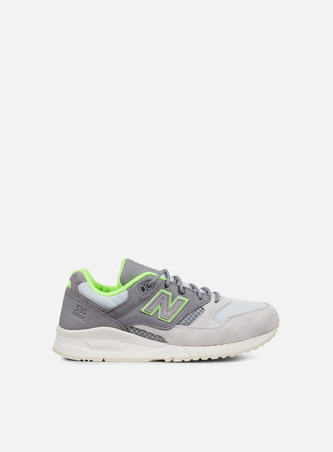 sneakers new balance m530 synthetic mesh steel grey