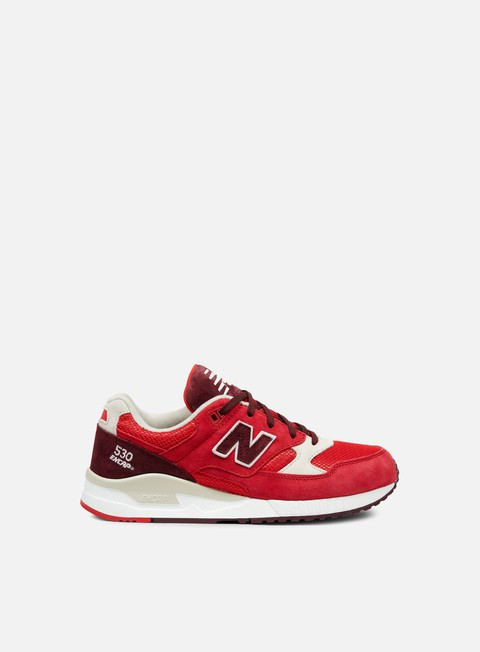 sneakers new balance m530raa red grey