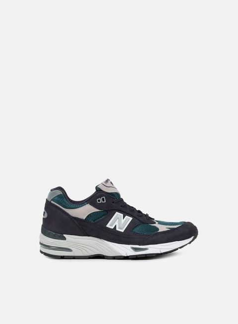 sneakers new balance m991 35th anniversary navy grey