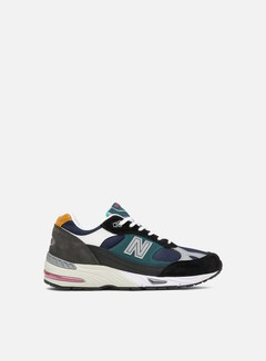 New Balance - M991 Made In England, Black/Dark Grey/Purple/Orange