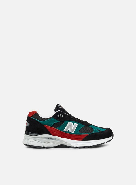 sneakers new balance m991 made in england black red