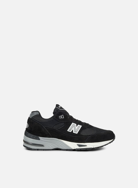 sneakers new balance m991 made in england black silver