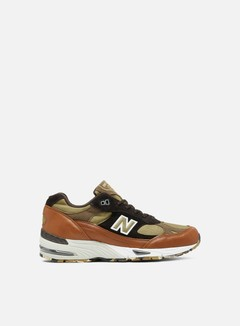 New Balance - M991 Made in England, Burnt Orange/Brown/Light Brown