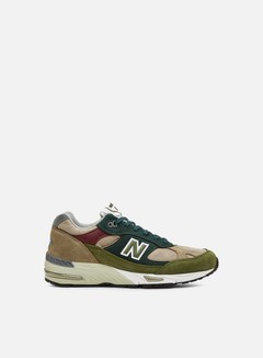 New Balance - M991 Made In England, Green/Red