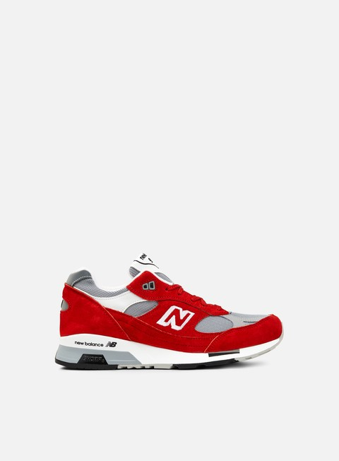 sneakers new balance m9915 made in england red grey