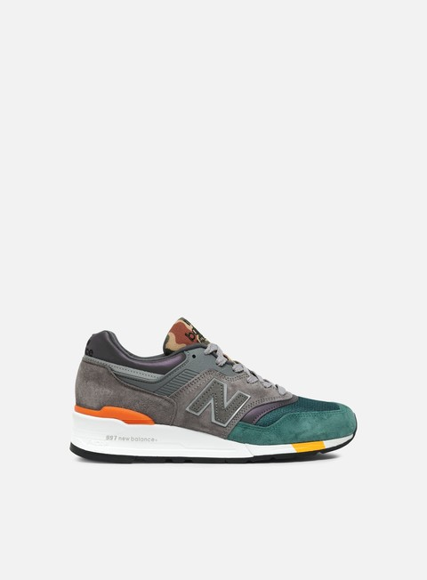 sneakers new balance m997 made in usa grey green