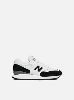 New Balance - M998 Made In Usa, Black/White