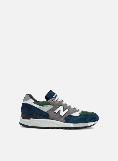 sneakers new balance m998 made in usa blue green