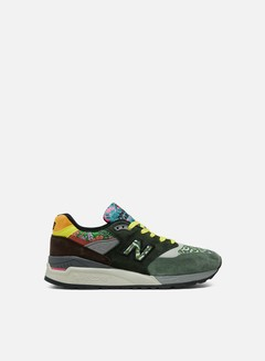 New Balance - M998 Made In Usa, Green/Brown