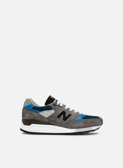 sneakers new balance m998 made in usa grey blue