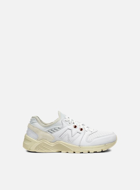 sneakers new balance ml009 leather mesh artic fox