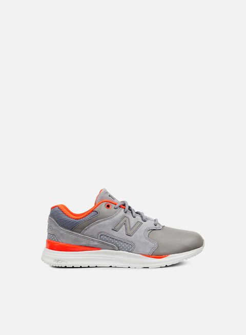 sneakers new balance ml1550 synthetic mesh grey orange