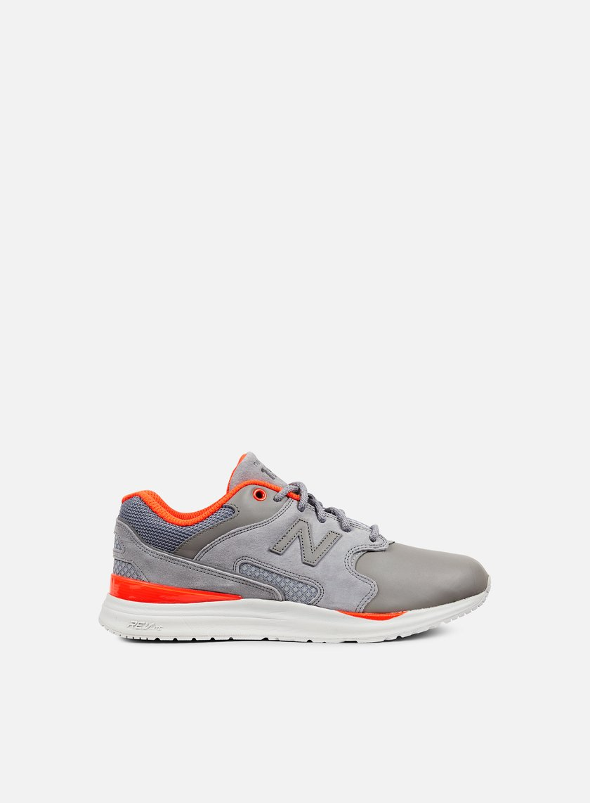 New Balance - ML1550 Synthetic/Mesh, Grey/Orange