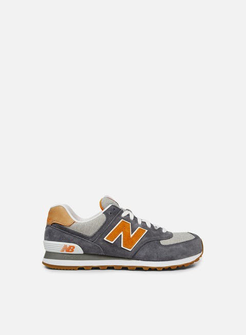 sneakers new balance ml574 pigskin canvas castle rock