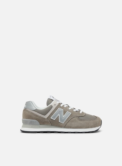 sneakers new balance ml574 suede mesh grey
