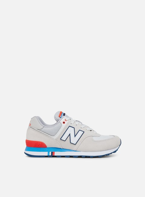 Outlet e Saldi Sneakers Basse New Balance ML574 Suede/Textile