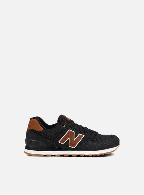 sneakers new balance ml574 textile black