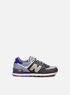 New Balance - ML574 Textile, Dark Grey 1