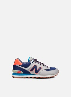 New Balance - ML574 Textile, Stone Grey