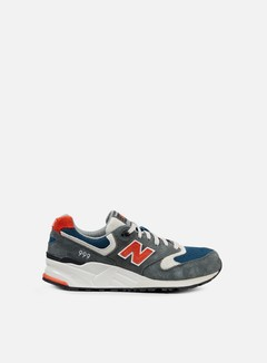 New Balance - ML999, Dark Grey/Orange/Navy 1