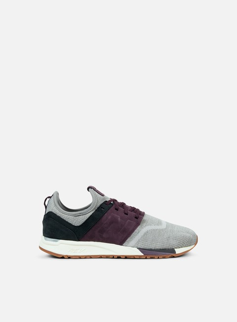 sneakers new balance mrl247 leather grey
