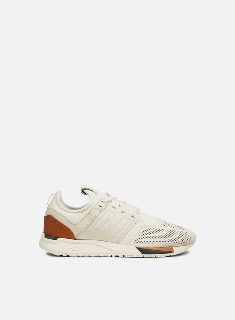sneakers new balance mrl247 lux leather beige