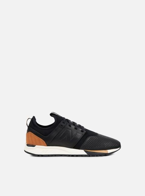 sneakers new balance mrl247 lux leather black