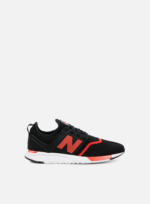 sneakers new balance mrl247 microfiber black