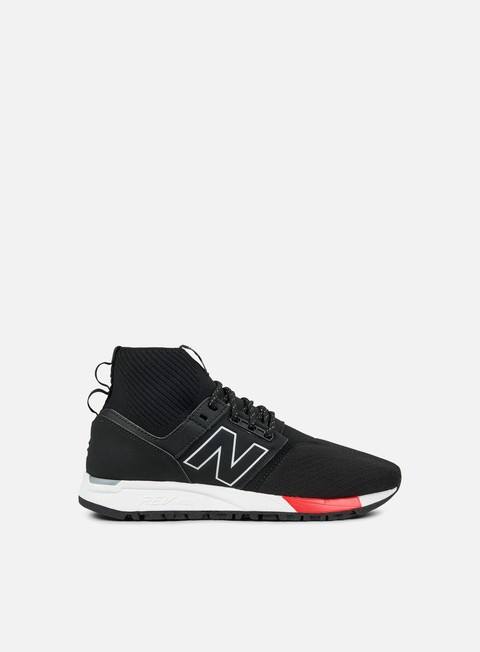 sneakers new balance mrl247 microfiber techy mesh black