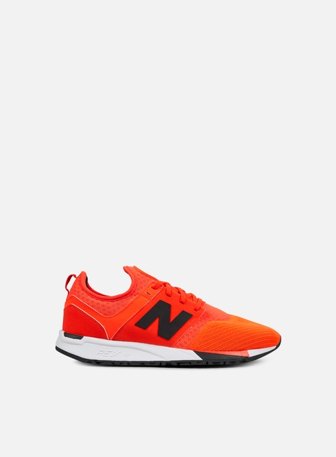 sneakers new balance mrl247 synthetic orange