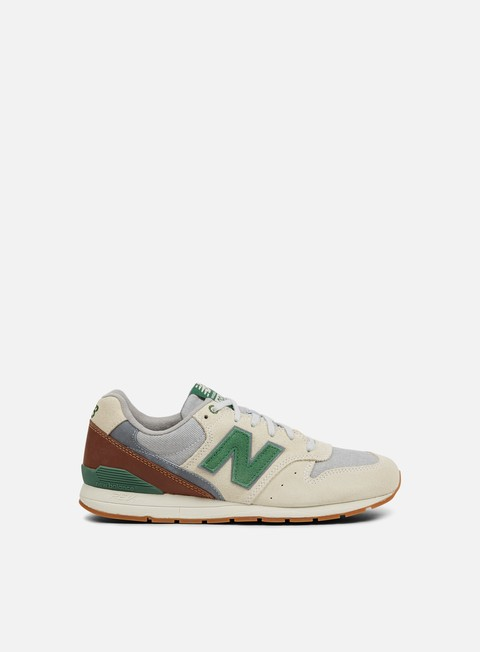 sneakers new balance mrl996 suede textile khaki