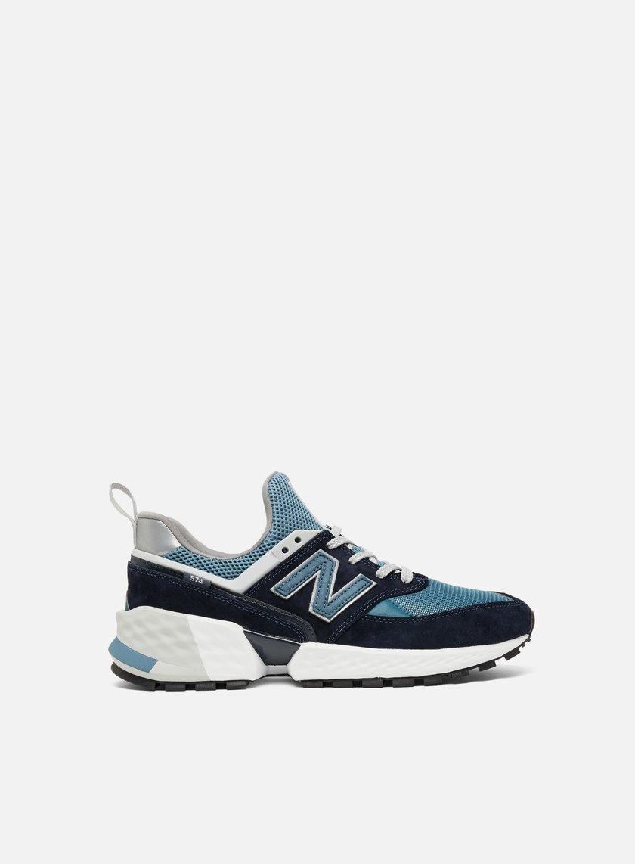 Balance Ms574 mesh Pigskin Sneakers Basse Da New Uomo rtshdCQx
