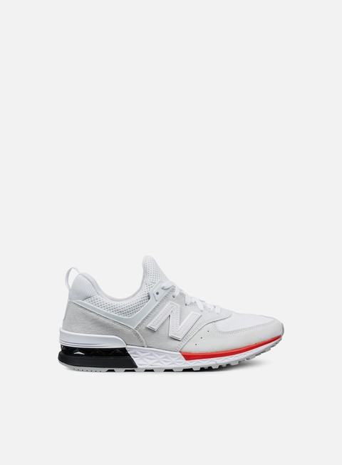 Sale Outlet Low Sneakers New Balance MS574 Suede/Mesh