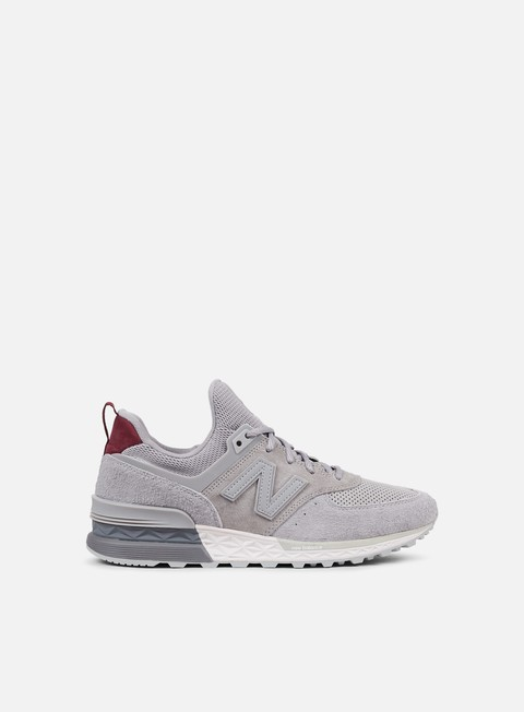 sneakers new balance ms574 suede suede team away grey